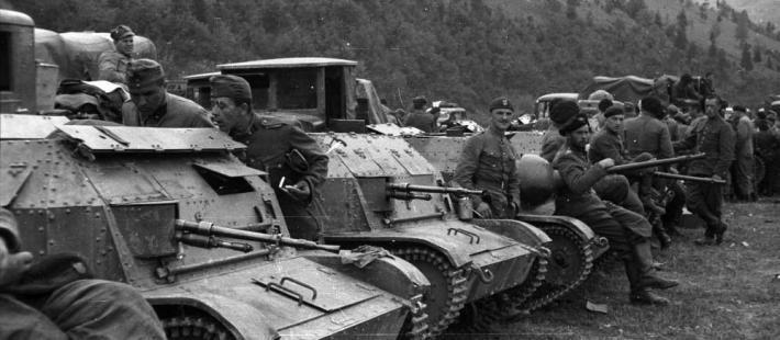 10 brygada kawalerii po przekroczeniu granicy, www.strefahistorii.pl