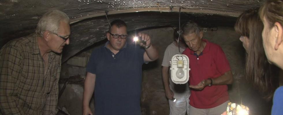 Embedded thumbnail for URBEX W Pruszczu Gdańskim odkryto gotyckie piwnice